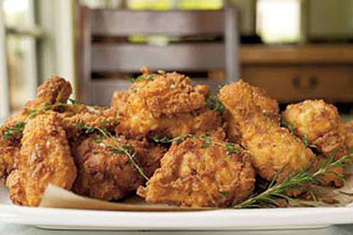 Coquette's fried chicken