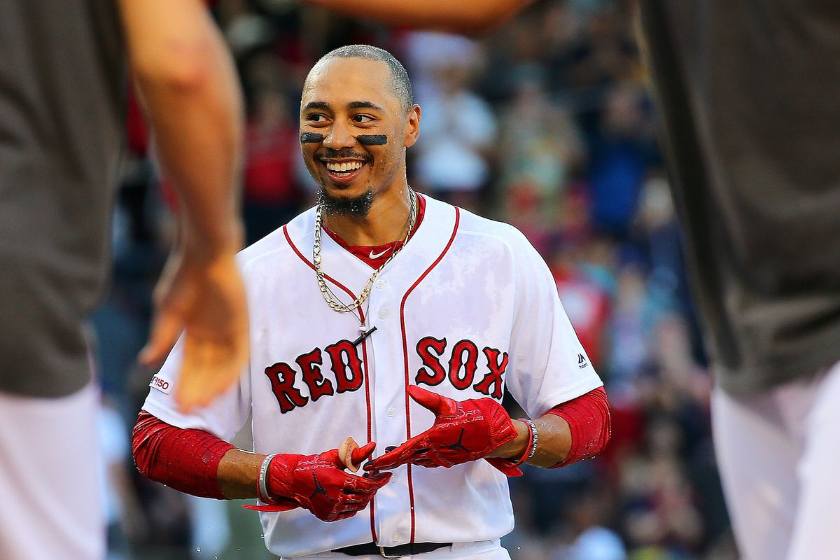 Mookie Betts gets the day off and Eduardo Rodriguez starts as Red Sox start series in Baltimore