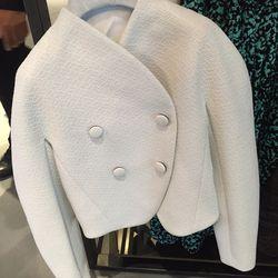 Bonded boucle jacket, $340