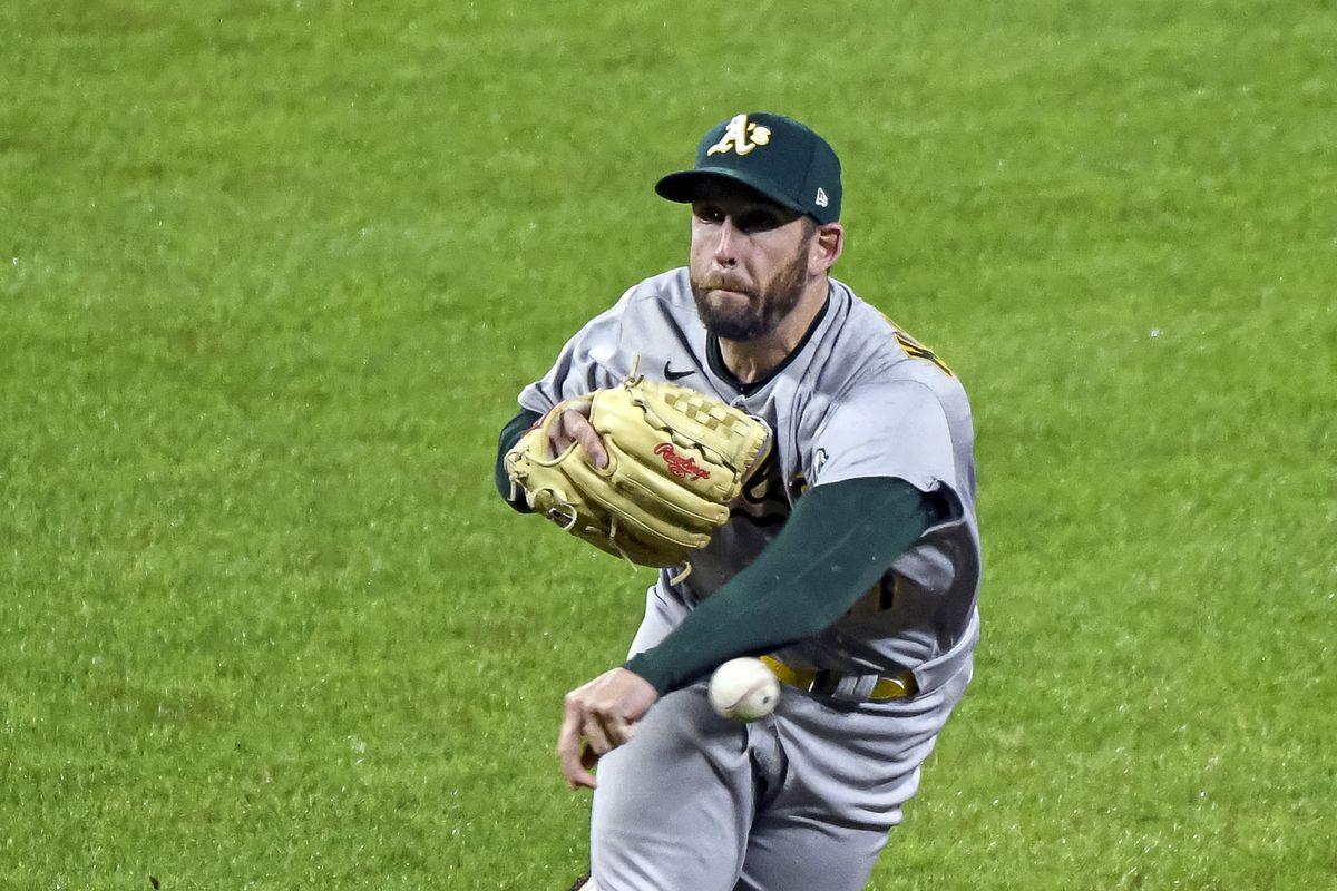 MLB: APR 24 Athletics at Orioles