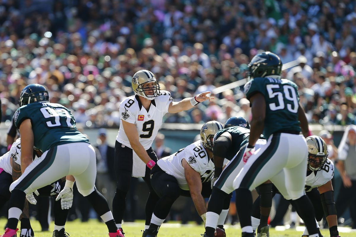 Nfl Late Games Let S Watch The Saints Bury The Eagles