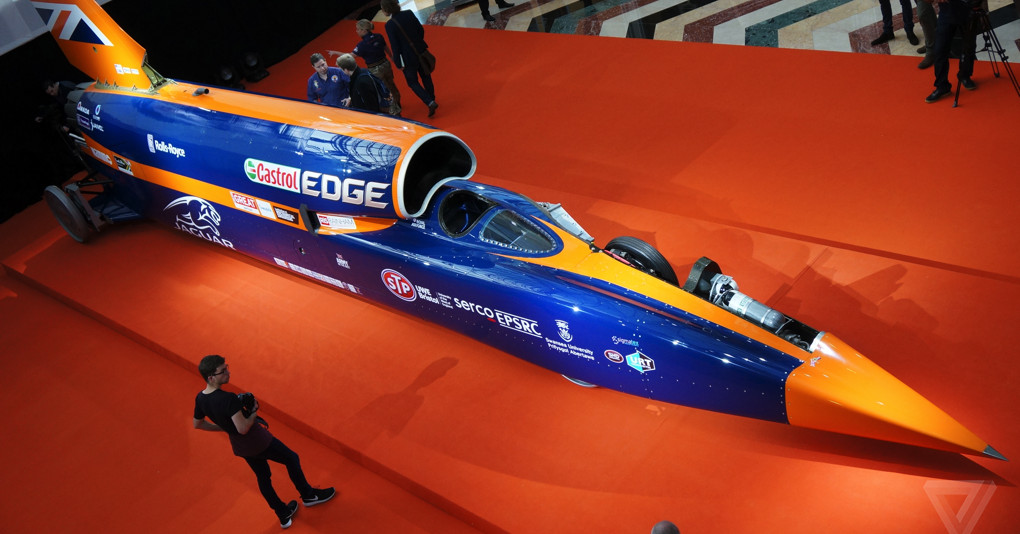 the bloodhound ssc rocket on wheels is running out of. Black Bedroom Furniture Sets. Home Design Ideas