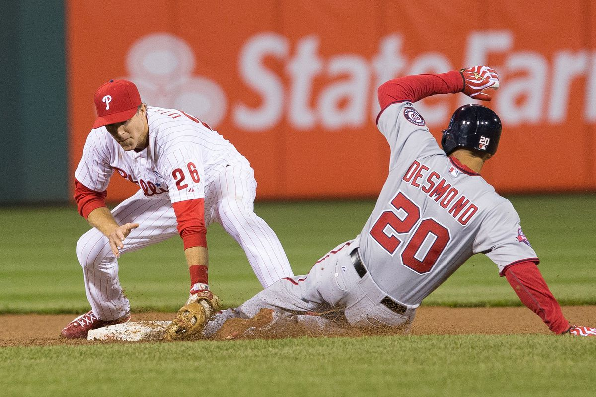 The Nats bats continued to flounder in Friday's 4-1 loss to the Philadelphia Phillies.