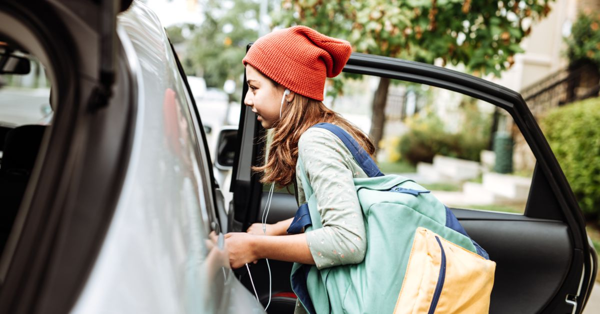 Ride-sharing services refuse to serve underage kids. Teens still use them.