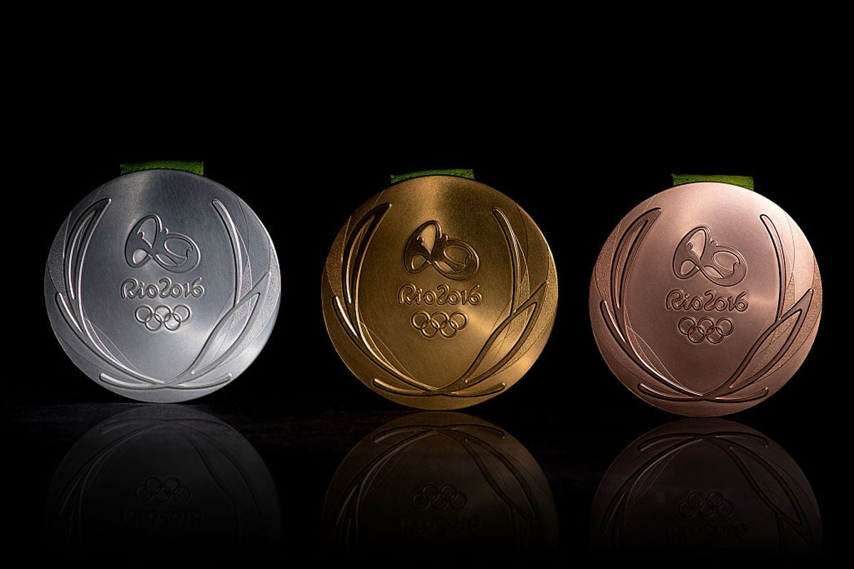The Olympic medals in Rio. Brazil has 6 openly gay Olympians