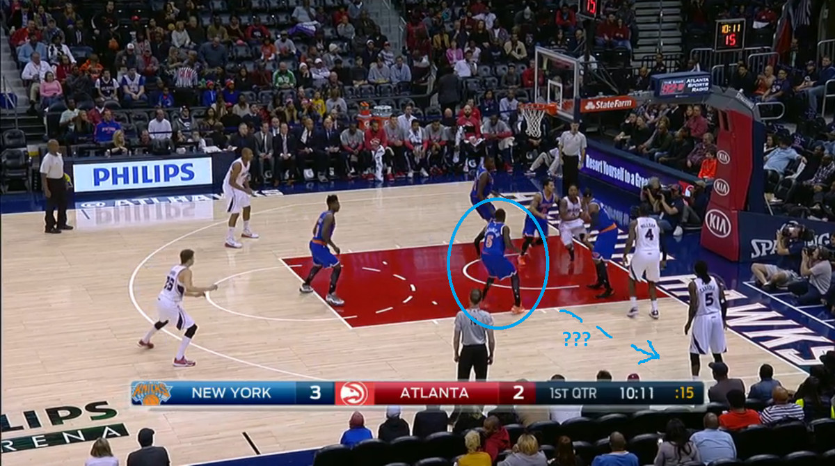 11.8.14 Knicks bad perimeter D