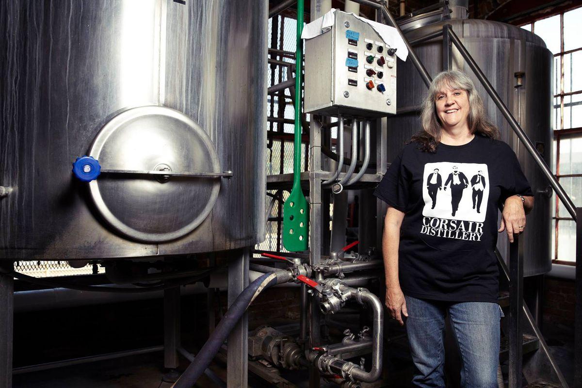 Karen Lassiter, head brewer for Corsair.