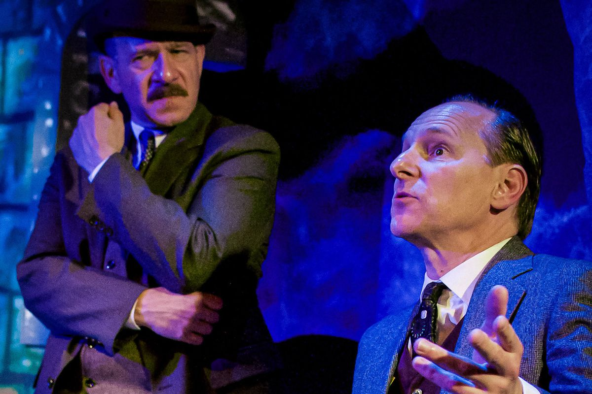 Not much bite in City Lit Theater's 'Hound of the Baskervilles'