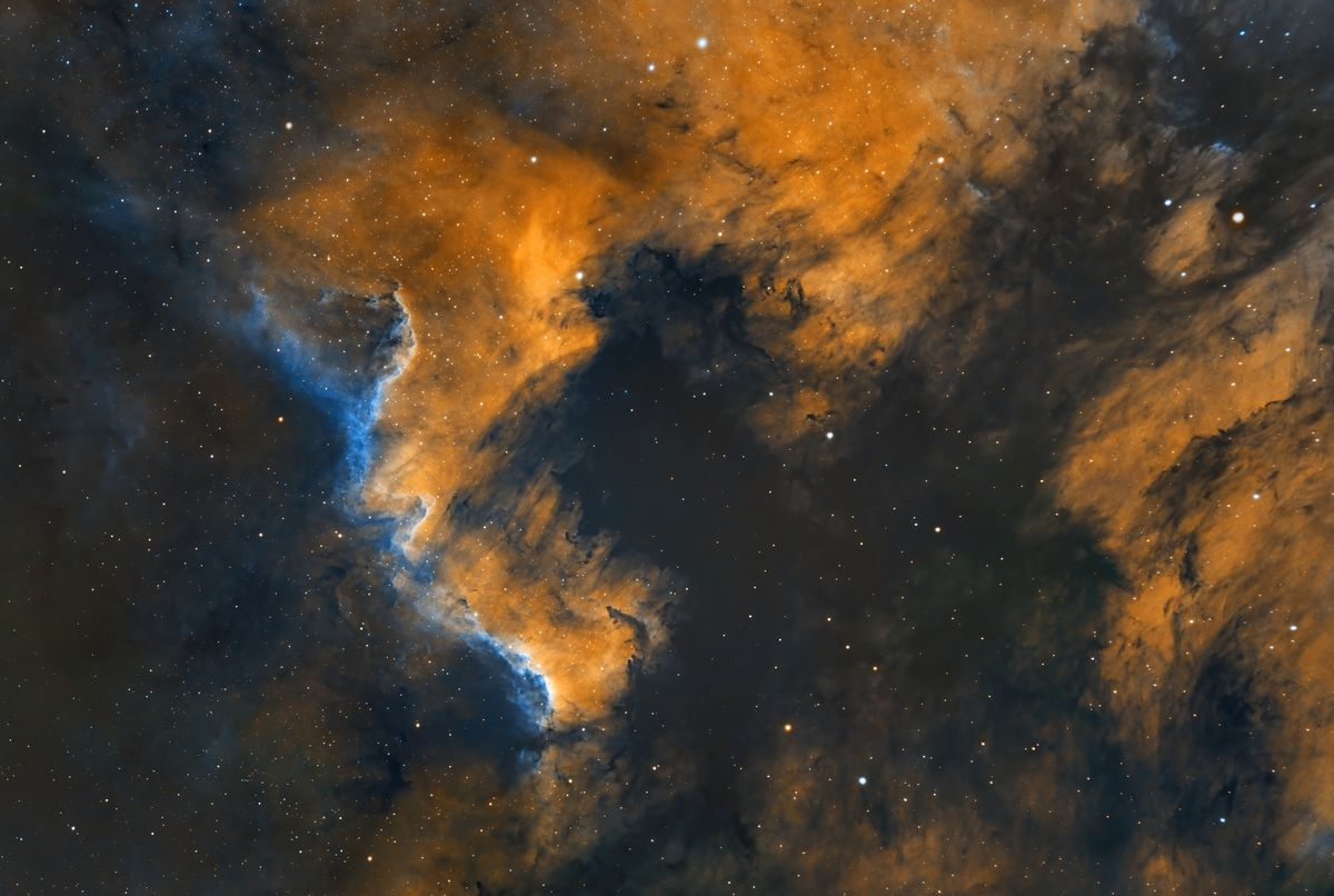 Image of the Pelican Nebula, taken by Gian Lorenzo Ferretti from University Village and posted on his Instagram May 21.