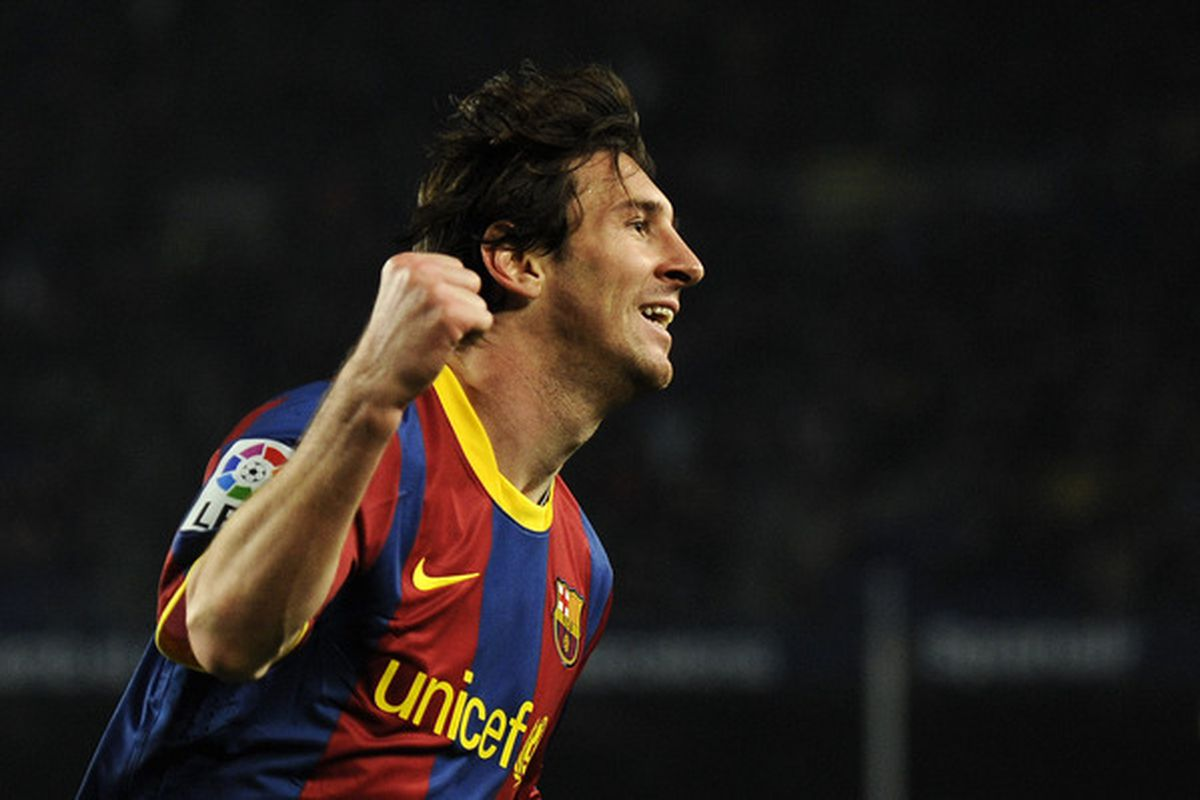 The best player on the planet. Will he be La Liga's top scorer?