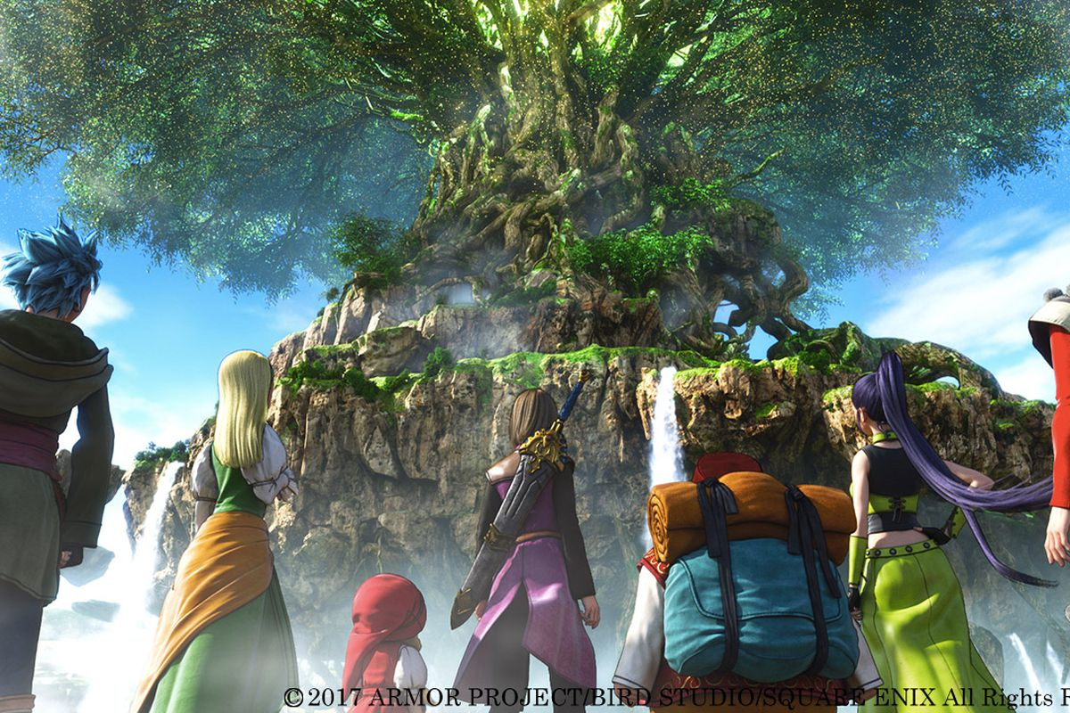 Dragon Quest XI is coming to the West in 2018