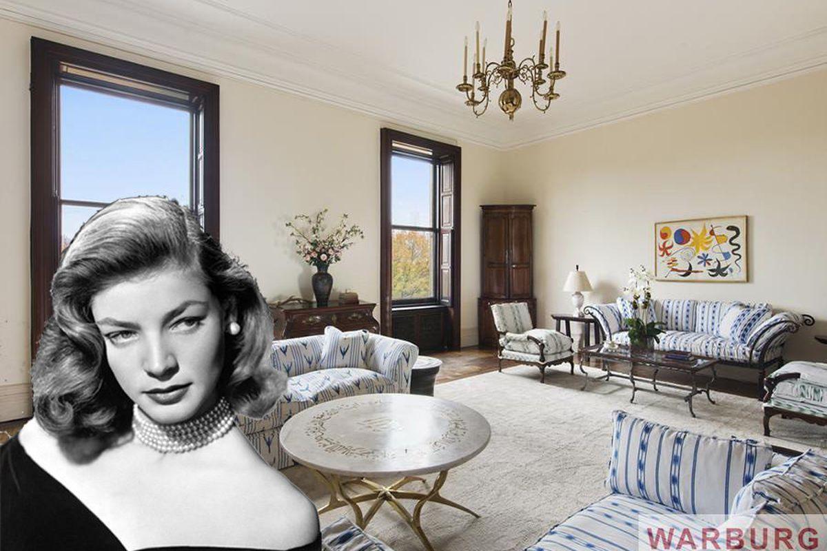 Lauren Bacall S 23 5m Dakota Apartment Finds A Er