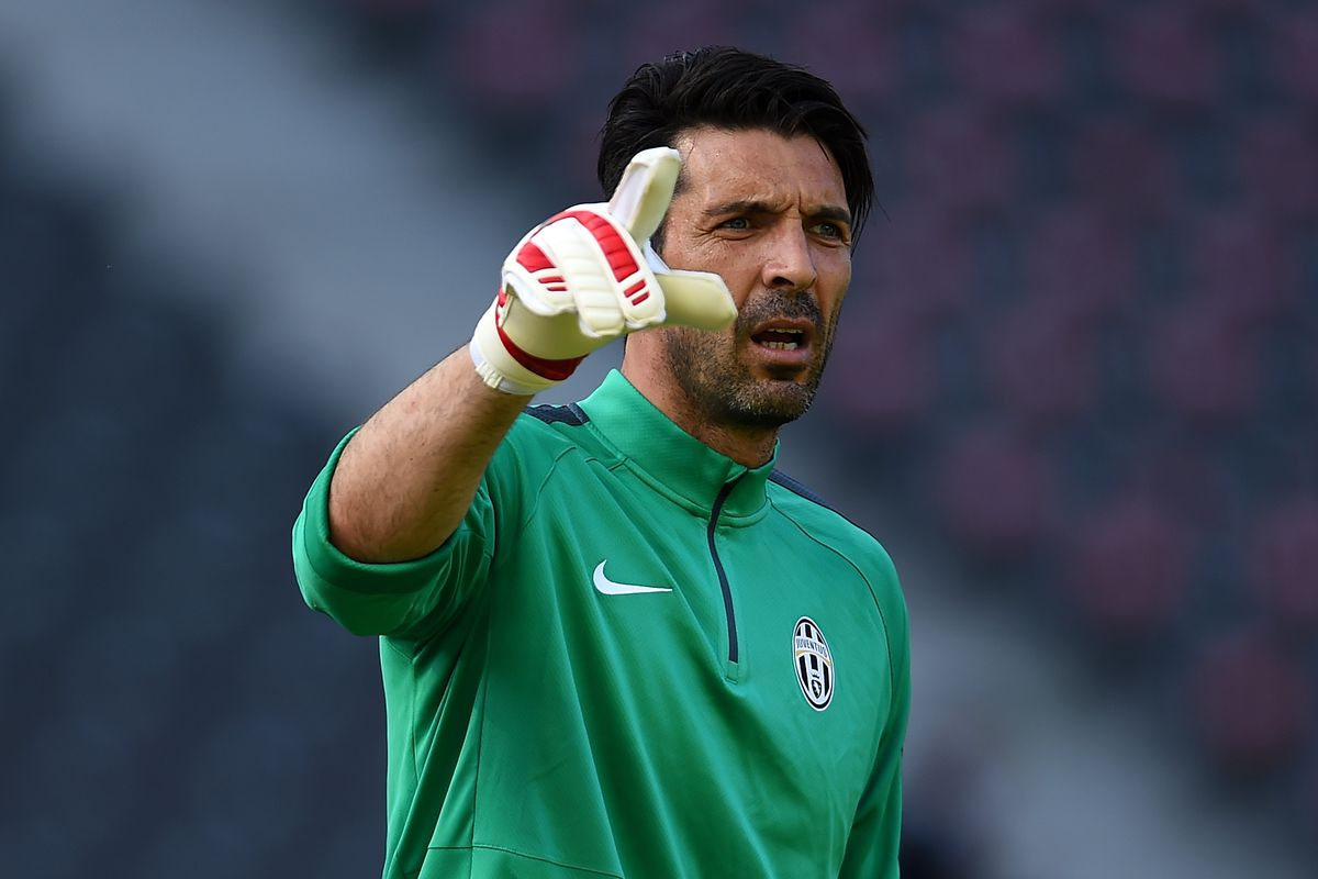 Juve legend Gigi Buffon will be in goal for what I hope is Juve's third Champions League win.