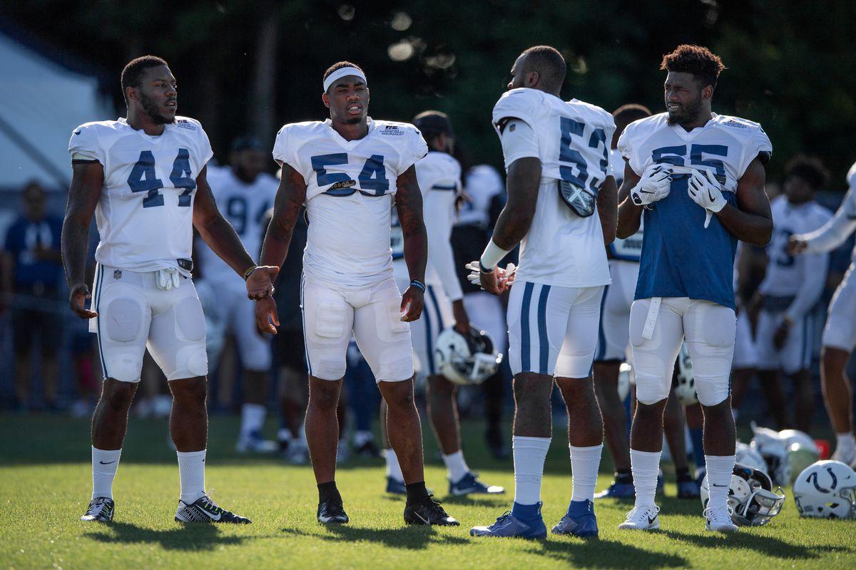 NFL: JUL 31 Colts Training Camp