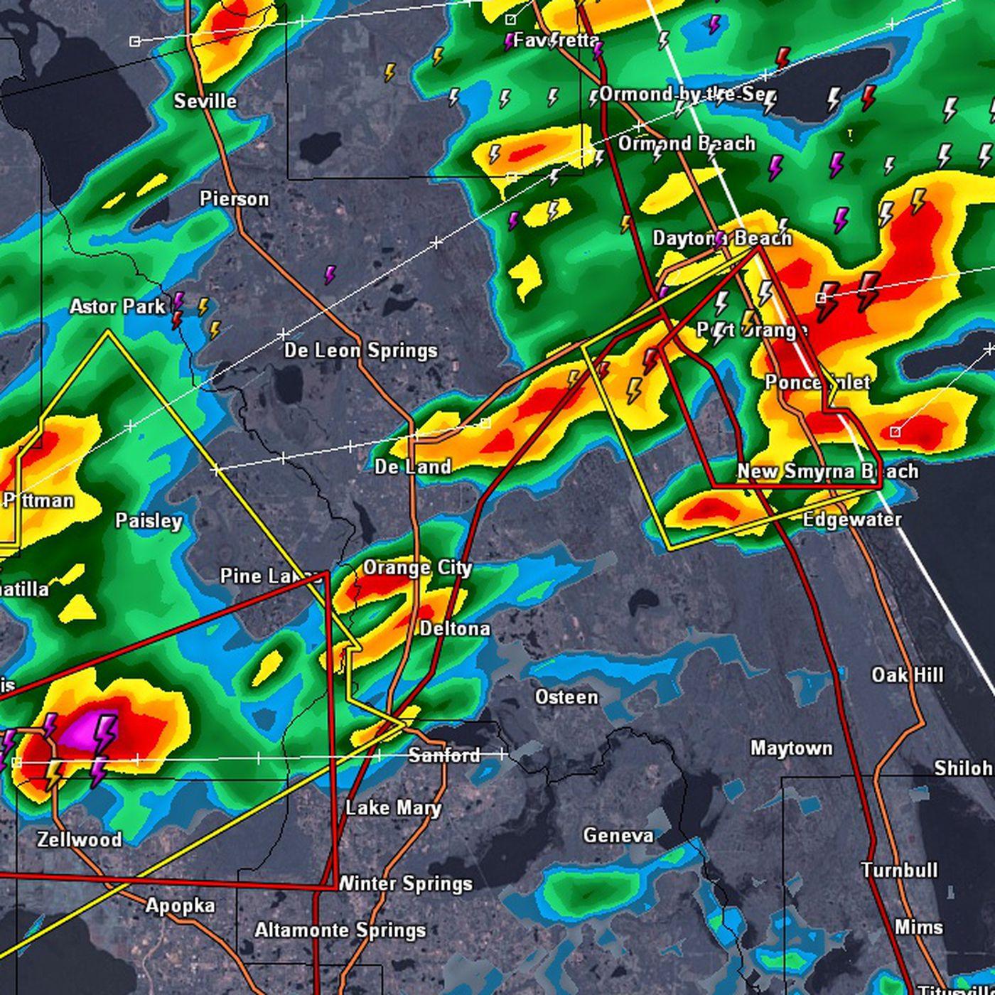 Daytona Speedway Weather Map.Nascar 2014 Daytona 500 Weather Severe Storms Causing Delay