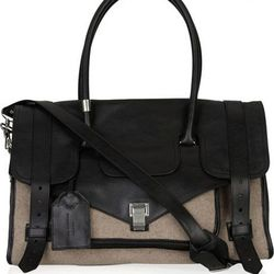 PS1 travel leather and felt tote, $499