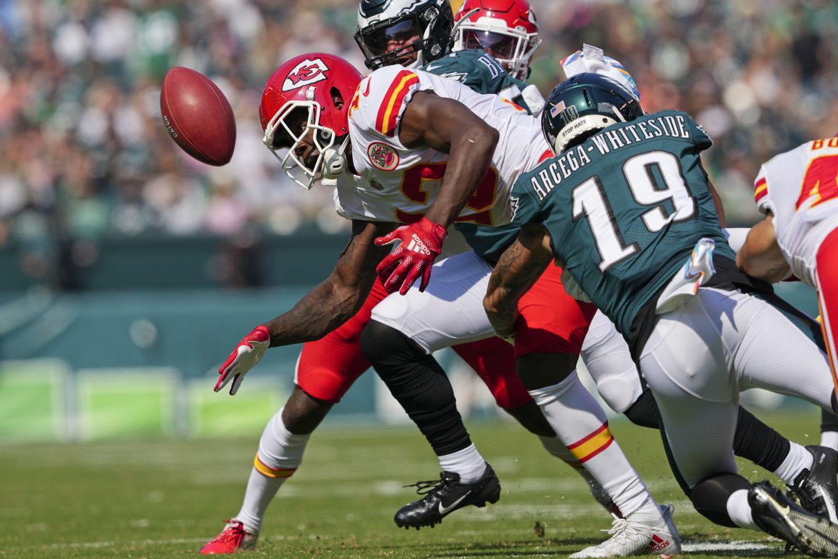 NFL: OCT 03 Chiefs at Eagles