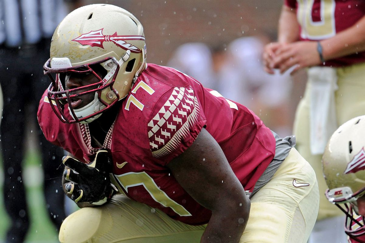 Draft-eligible LT Rod Johnson is set for a strong Spring.