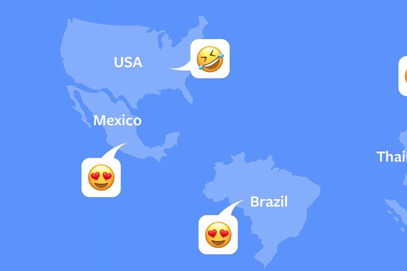 facebook s most used emoji accurately sum up the platform hearts and tears