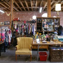 Society of St. Vincent de Paul thrift store will hold court at the weekly three-day flea market for the next several months.