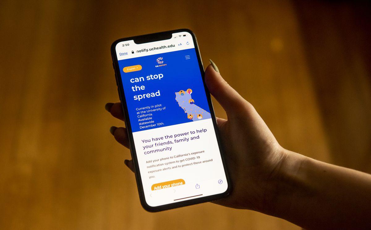 Phone App Warns Of Covid Exposure