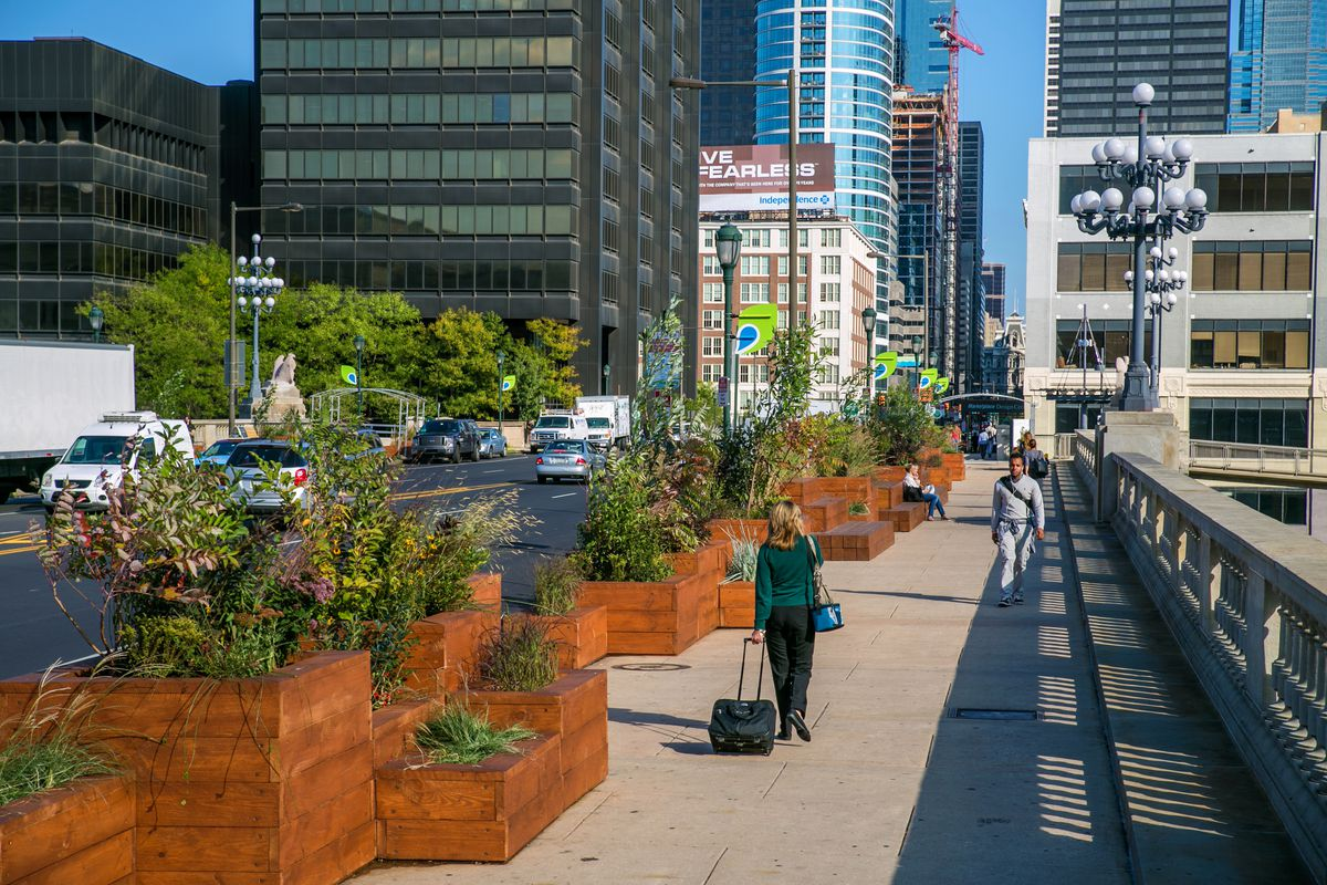 University City District and Center City District partnered to spruce up  Market Street Bridge to build a better, more welcoming connection from 30th  Street ...