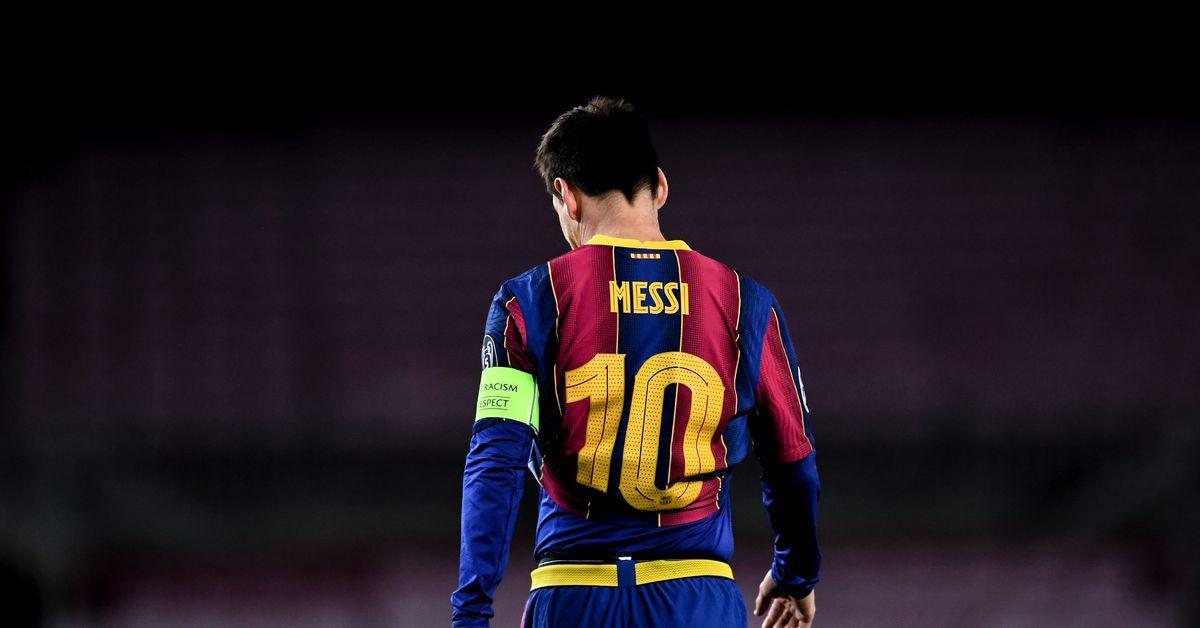 Barcelona S 2021 2022 Champions League Kit Leaked Barca Blaugranes