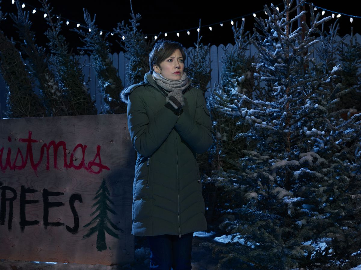 Carrie Coon in the third season of Fargo