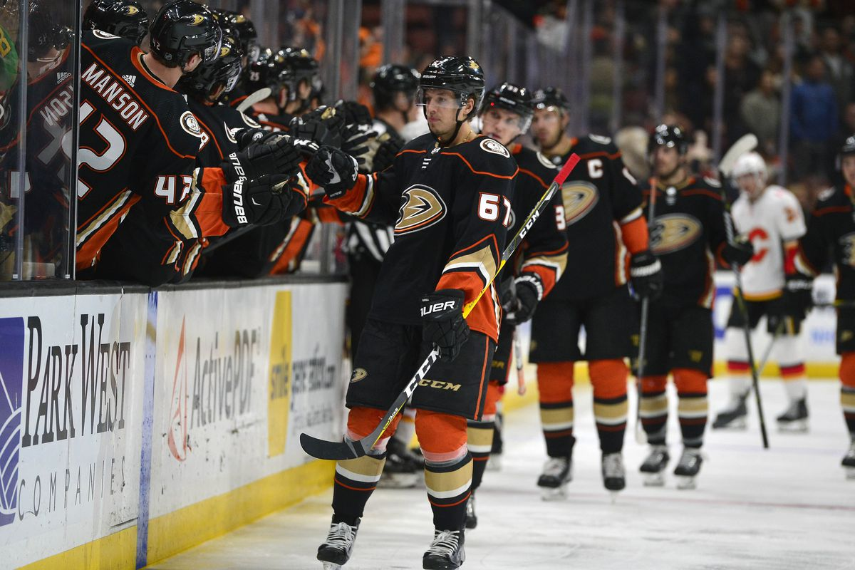 best loved 032a3 4b347 Rickard Rakell Named To Pacific Division All Star Team ...