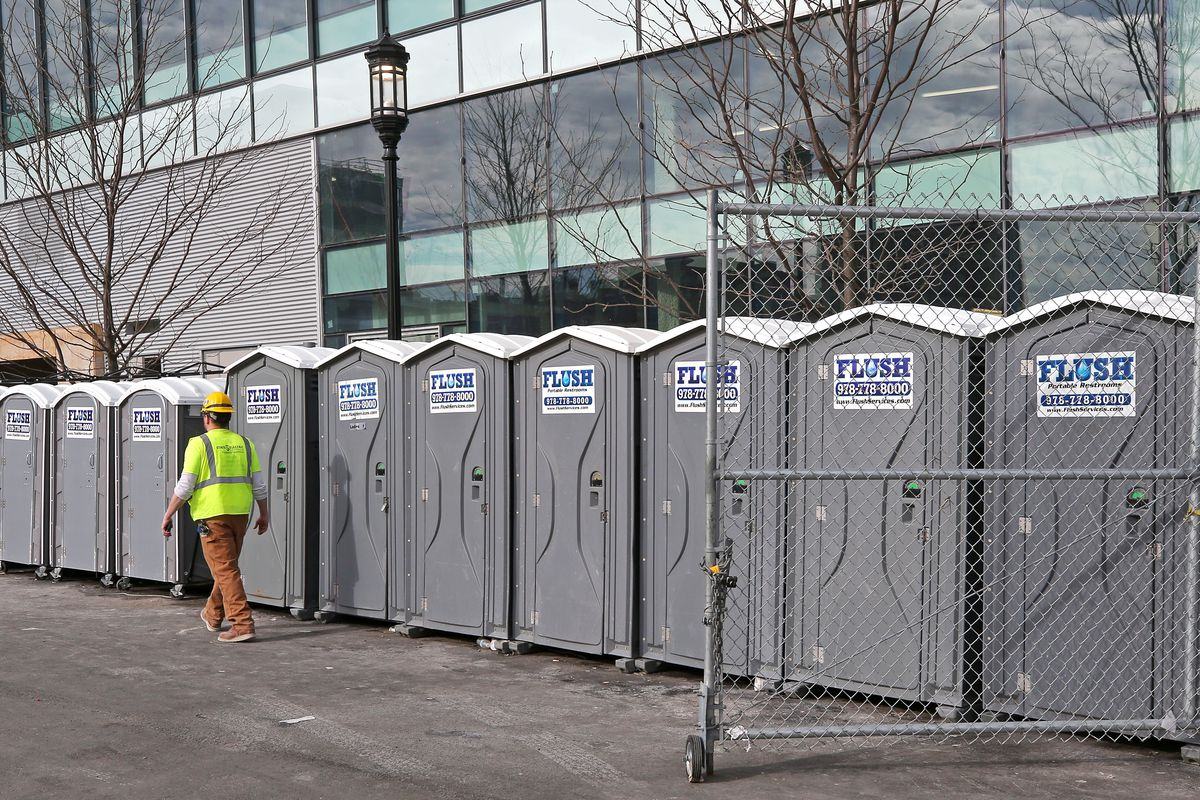Porta-Potty Business Expands Amid Construction Boom