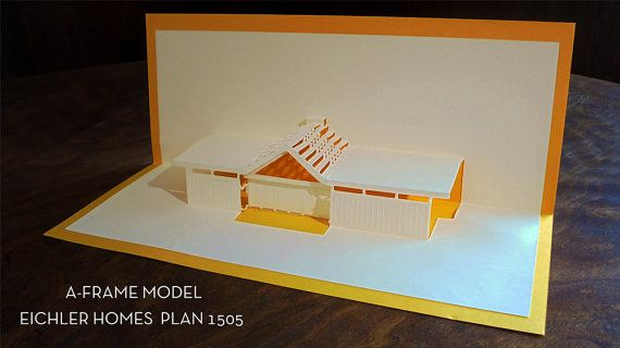 Eichler greeting cards for the midcentury modern fan in your life there are three models based on homes seen in balboa highlands which is in extreme northern san fernando valley reports the modernist m4hsunfo