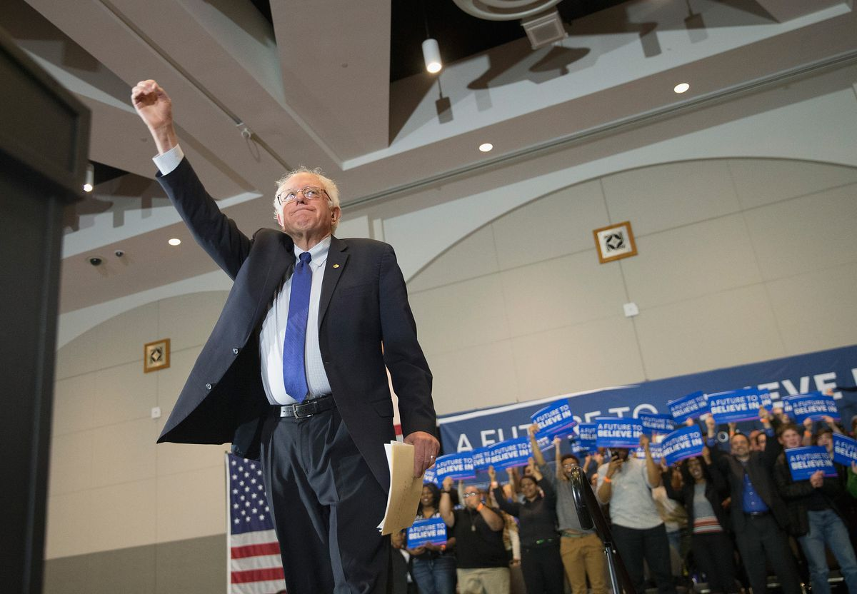 Bernie Sanders Holds Campaign Rally In Milwaukee Before State Primary