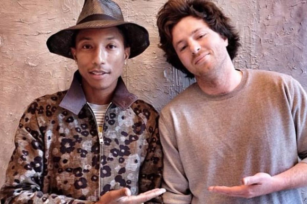 Pharrell and Jean Imbert