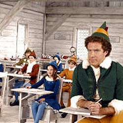 """Will Ferrell, right, stars as Buddy in the comedy """"Elf,"""" which is scheduled to open on Nov. 7."""