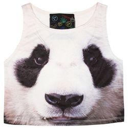"Panda crop top, <a href=""http://www.shopjeen.com/products/panda-tank-crop-top"">$45</a> at Shop Jean"