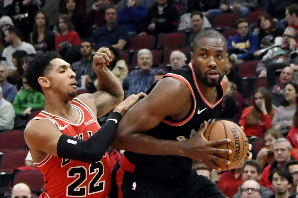 NBA: Toronto Raptors at Chicago Bulls