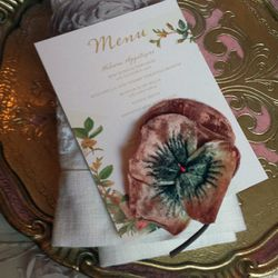 """<span class=""""credit"""">More wedding stationery inspiration. Each table boasted a different theme.</span>"""