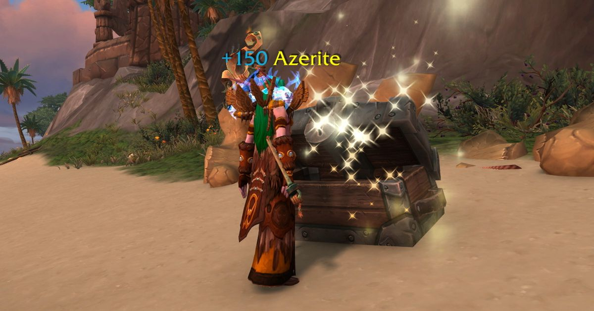 World of Warcraft's next patch changes up how players get Azerite armor