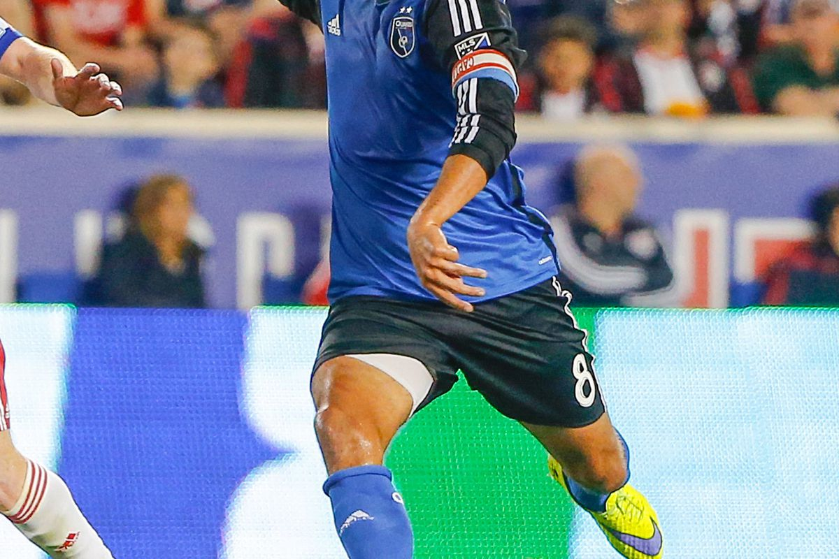 The Quakes looked much better with Wondo in the lineup