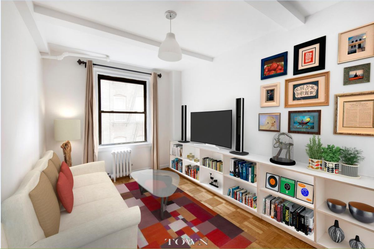 For $585K, a compact East Village co-op filled with light - Curbed NY