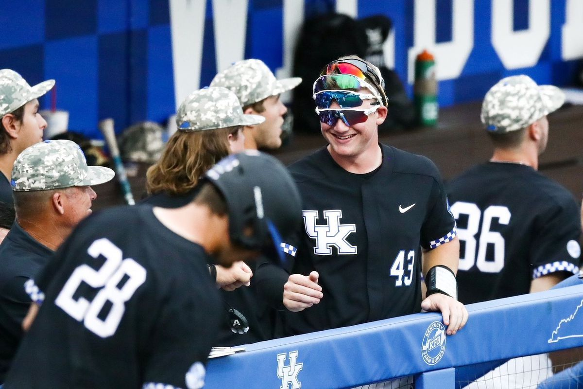 3cfbe1f7cf2d7 Kentucky Baseball s wild comeback against No. 2 Vanderbilt falls short