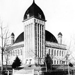 The old Granite Tabernacle at 33rd South and State Street was a landmark for years.