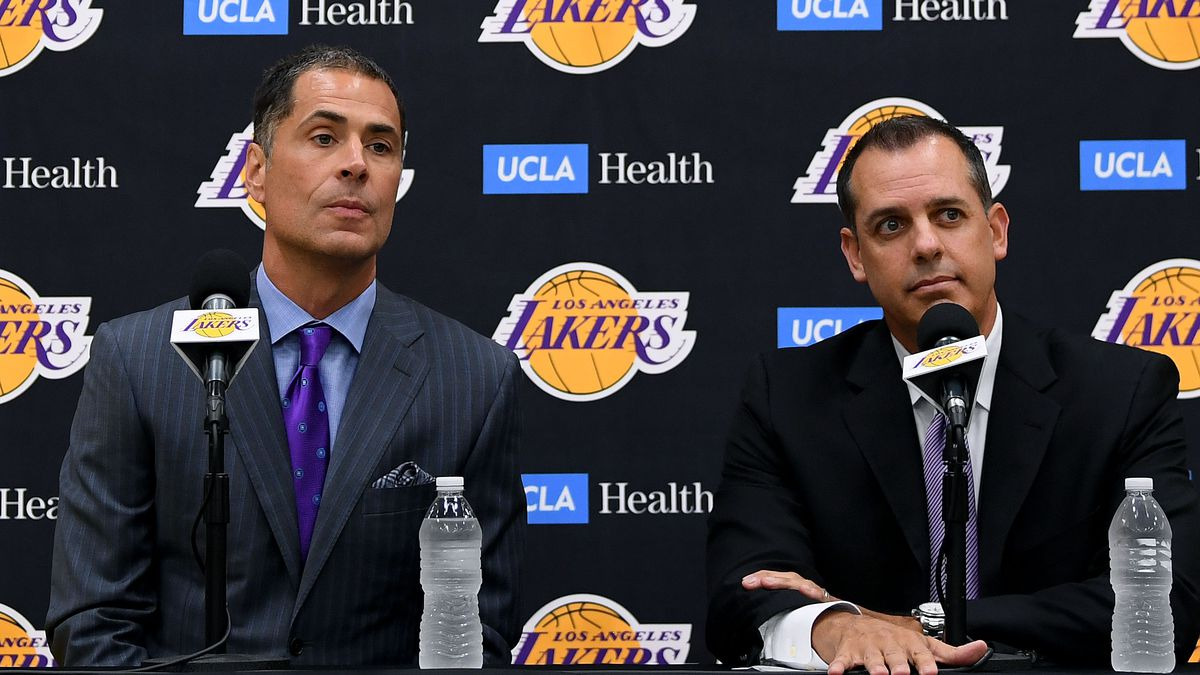 5ded566f1 Podcast  At what point will the Lakers consider firing Rob Pelinka