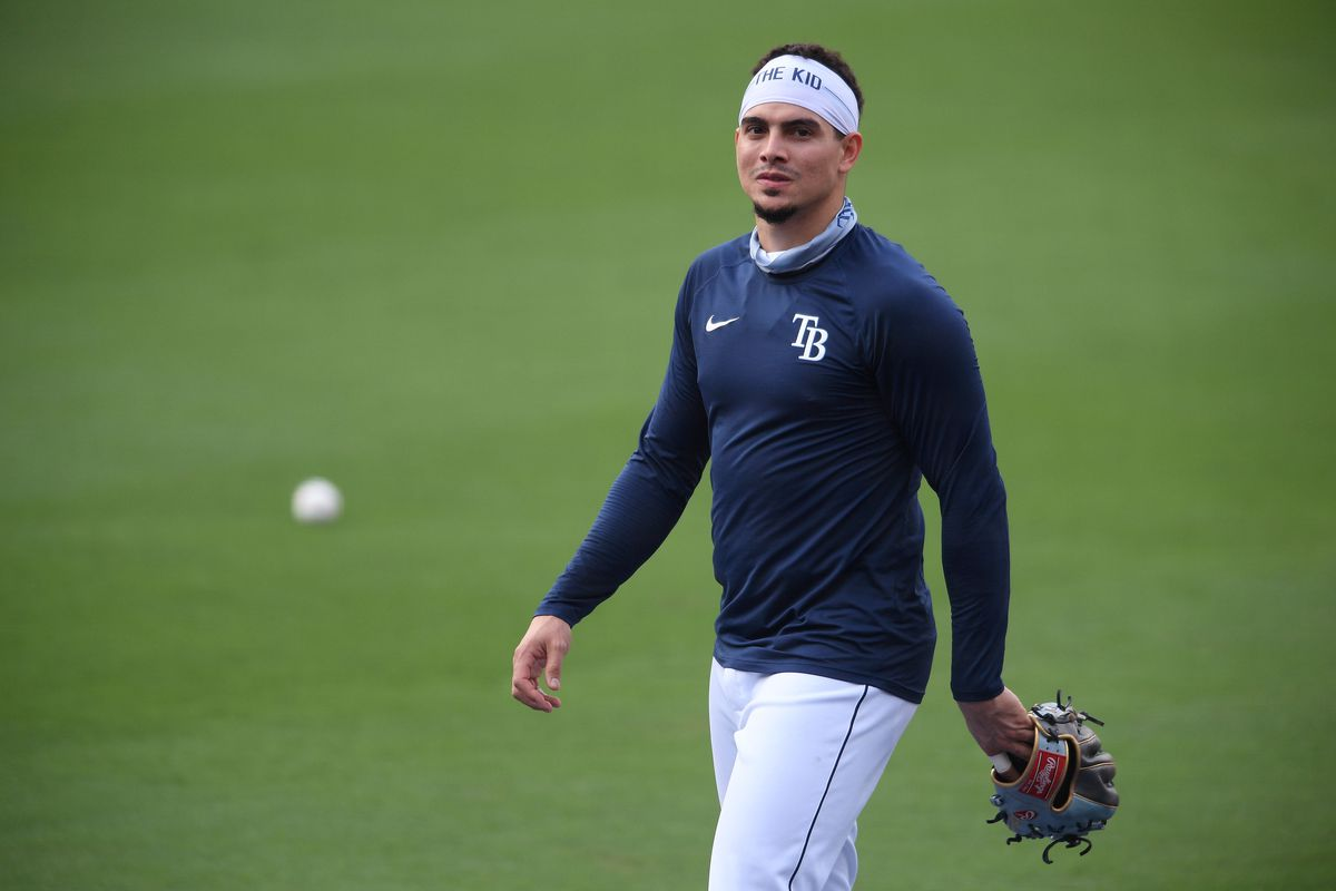 MLB: ALDS-Rays Workouts