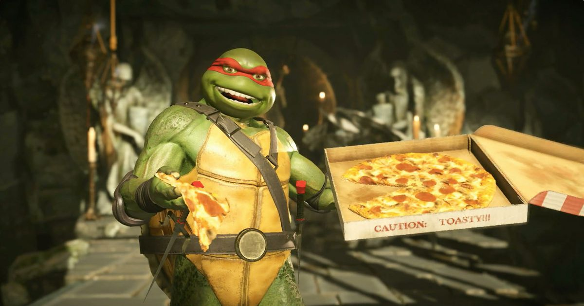 showing 1st image of 2018/10 Check out the Ninja Turtles in action in Injustice 2 - Polygon