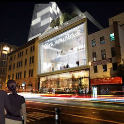 The proposed Andy Warhol Museum.
