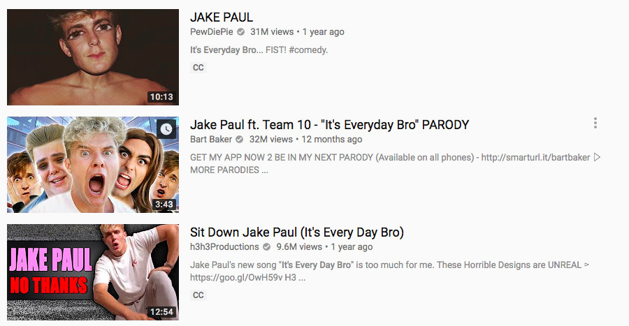 6a68548489c2 The Pauls initially blew up on YouTube by releasing awful rap songs that  everyone made fun of. As much as they boast about their Instagram-worthy  life