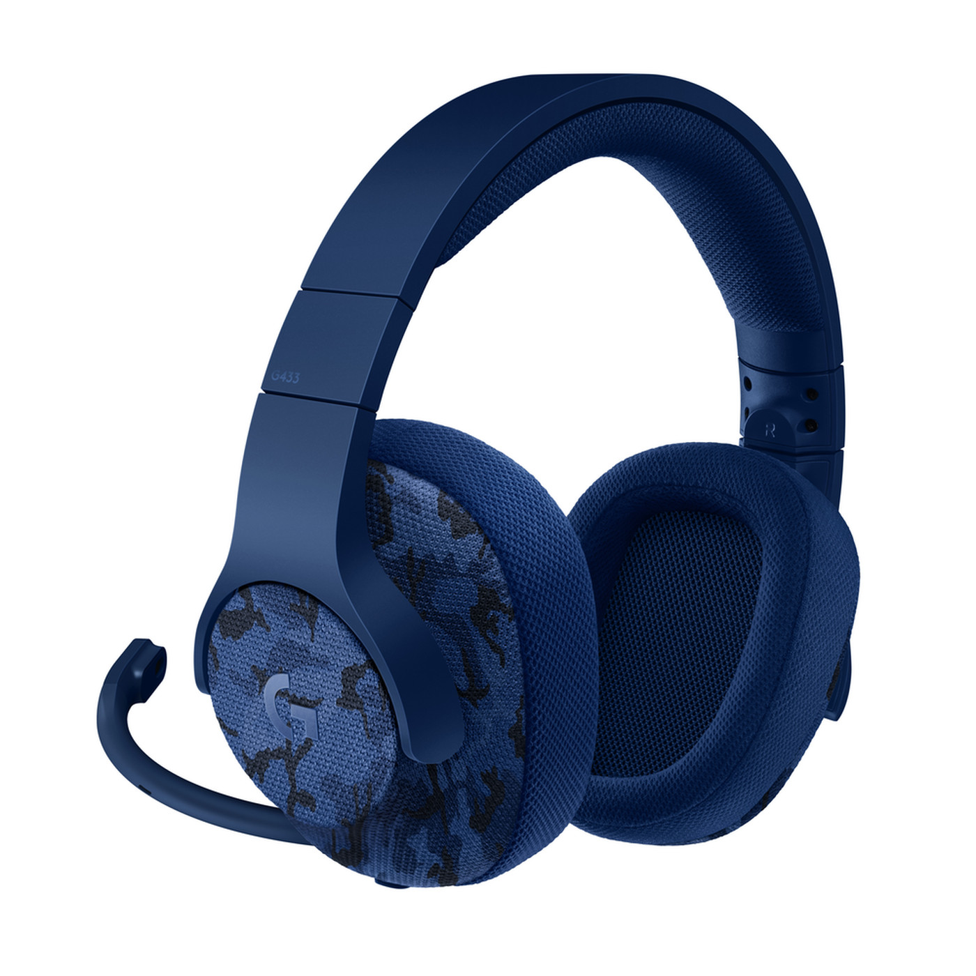 Logitech's new blue camo gaming headphones are perfect for