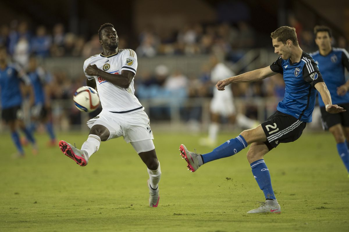 SOCCER: SEP 05 MLS - Union at Earthquakes