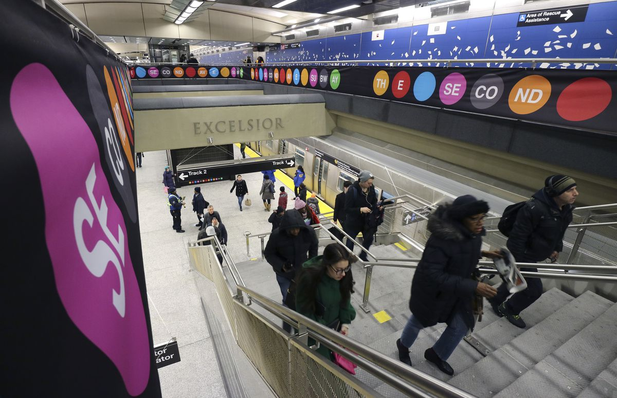 Second Avenue Subway line in New York City